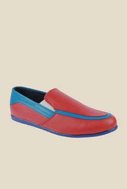 Series Red & Blue Casual Loafers