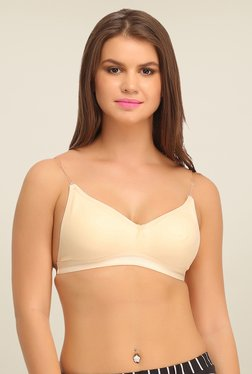 Clovia Beige Backless Multiway Bra