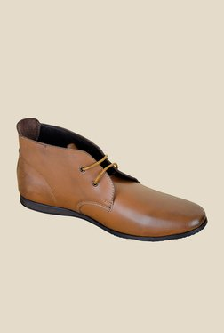 Famozi Brown Chukka Boots