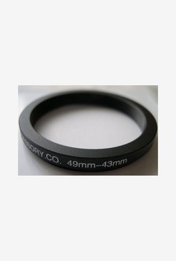 Heavystar 49-43mm Dedicated Metal Step Down Ring (Black)