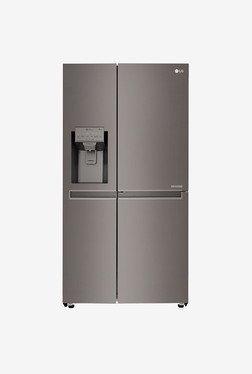 LG GC-J247CKAV 668 Ltr Refrigerator (Black STS )