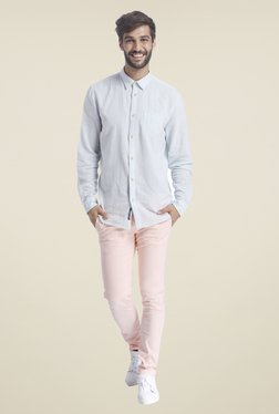Selected Pink Solid Trousers