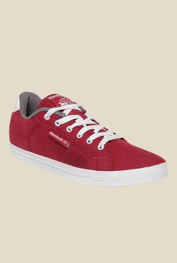 Reebok On Court III Red & White Sneakers