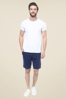 celio* Blue Printed Shorts