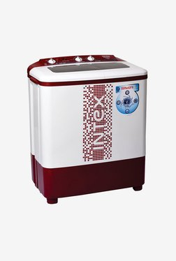 Intex WMS62TL 6.2 kg Washing Machine (White/Maroon)