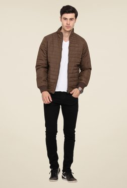Duke Stardust Coffee Quilted Jacket