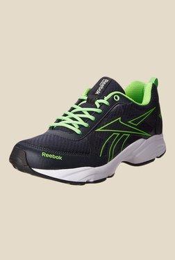 Reebok Top Runner 2.0 Black   Green Running Shoes 5d597672c