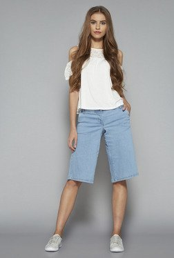 Nuon by Westside Blue Isabele Stretch Shorts