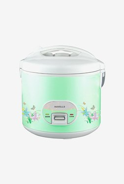 Havells Max Cook Dlx 2.8 L Rice Cooker (Light Green)