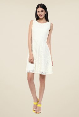 Femella Off White Lace Dress
