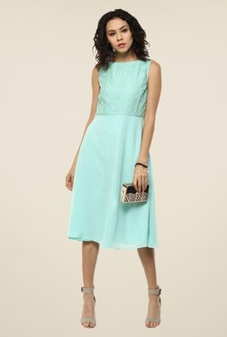 Femella Turquoise Lace Dress