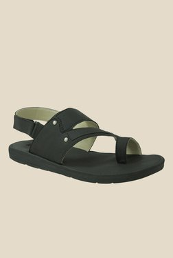 Gisole Stephi Black Back Strap Sandals