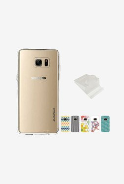 Stuffcool Pure Fab Soft Back Cover for Galaxy Note 7 (Clear)