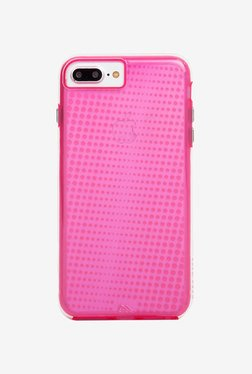 Case-Mate Tough Translucent Back Cover for iPhone 7+ (Pink)