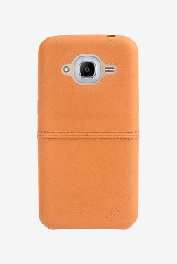 Stuffcool Aristo Leather Hard Back Cover For Galaxy J2 2016