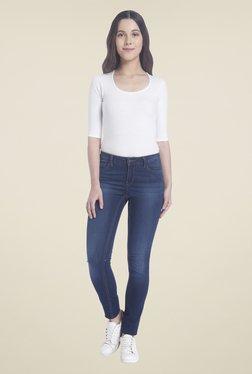 Vero Moda Dark Blue Lightly Washed Jeans