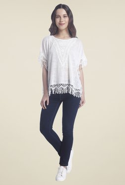 Vero Moda Snow White Lace Top