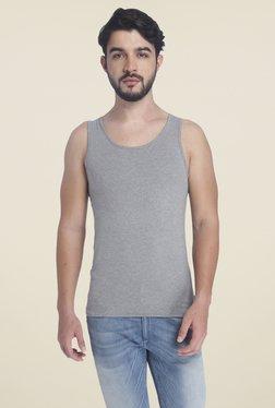 Jack & Jones Light Grey Textured Vest