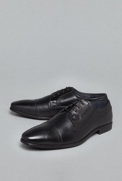 David Jones by Westside Black Brogue Shoes