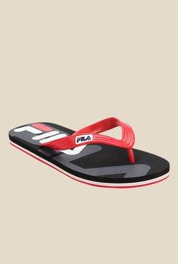 Fila Bold Red Flip Flops