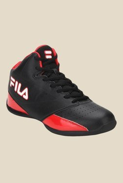 Fila Reversal Black & Red Basketball Shoes