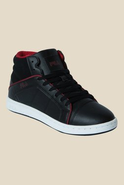 Fila Chester Black & Red Sneakers