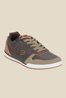 Fila Adamo Dark Brown & Khaki Sneakers