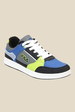 Fila Mariotto Black & Royal Blue Sneakers