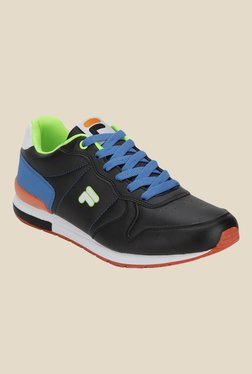 Fila Rinaldo Black & Royal Blue Sneakers