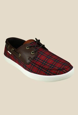 US Polo Assn. Nicholas Red Boat Shoes