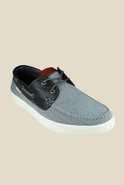 US Polo Assn. Tyler Grey Boat Shoes
