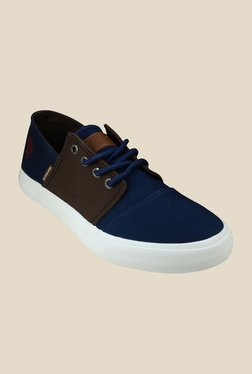 US Polo Assn. Ryan Navy & Brown Sneakers