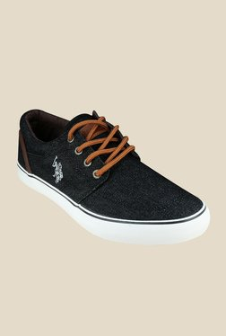 US Polo Assn. James Black Sneakers