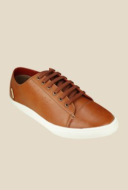 US Polo Assn. Tan & White Sneakers
