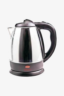 Orpat OEK-8137 1.2 L Electric Kettle (Black & Silver)