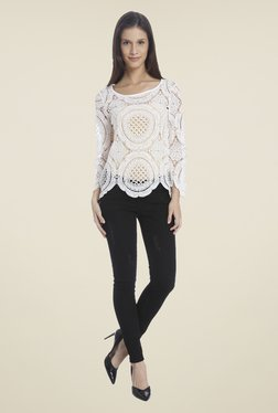 Vero Moda Snow White Crochet Top