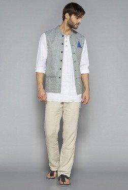 ETA By Westside White Slim Fit Shirt - Mp000000000585591