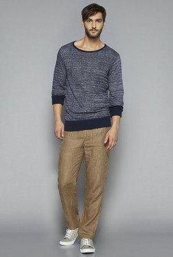 ETA By Westside Navy Slim Fit Knit T Shirt