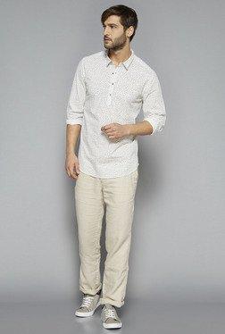 ETA By Westside White Slim Fit Shirt