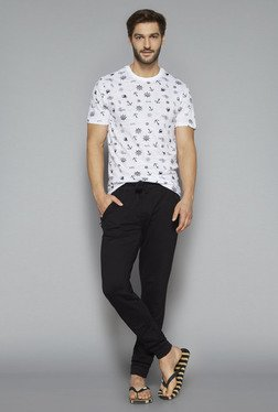 Bodybasics by Westside Black Slim Fit Pure Cotton Pyjama