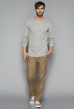 ETA By Westside Grey Slim Fit Pullover