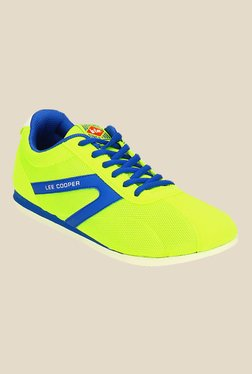 Lee Cooper Lime & Blue Running Shoes