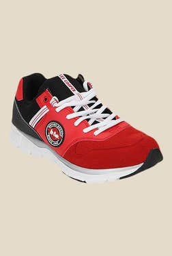 Lee Cooper Red & Black Running Shoes