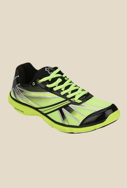 Lee Cooper Lime & Black Running Shoes