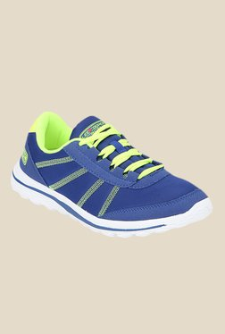 Lee Cooper Blue & Green Running Shoes