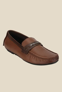 Lee Cooper Tan Formal Loafers