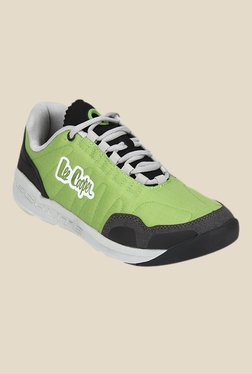 Lee Cooper Green & Grey Running Shoes