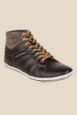 Lee Cooper Dark Brown Sneakers