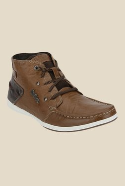 Lee Cooper Tan Casual Boots