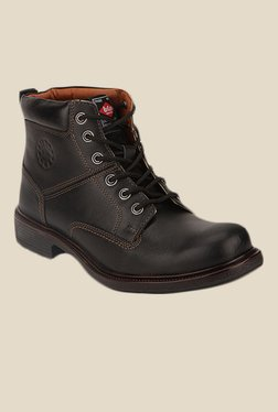 Lee Cooper Black Casual Boots